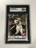 2019 Topps Update #US271 Ronald Acuna Jr. Braves RC Rookie SGC 10 Atlanta Braves
