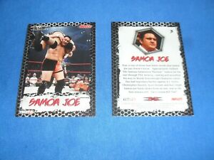 TNA Wrestling Trading Card 3 Samoa Joe BRAND NEW COLLECTABLE CARD Tv Sports