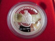 Australien 1/2oz Lunar I Affe 2004 0,5oz Silber PP Proof