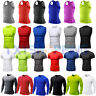 Mens Baselayer Sports Compression Tights Tops Under Skins T-Shirt Gym Wear S-2XL