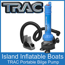 Trac Portable Bilge Pump. Submersible 250gph Flow Very Easy to Use Postage