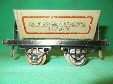 HORNBY O Gauge SIDE TIPPING WAGON Sir Robert Mc Alpine C.1925 Excellent 0 Gauge
