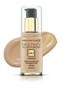 MAX FACTOR FACEFINITY ALL DAY FLAWLESS FOUNDATION 30ML *CHOOSE YOUR SHADE*