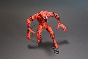 "Carnage 1995 Marvel ToyBiz 5"" Figure no Weapons Has Built-in Grapple Hook"