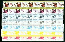 St. Vincent Union 1985 Birds $1 proof strips of 10