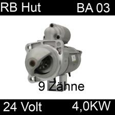 Anlasser Deutz Motor Fuchs Liebherr Volvo Penta für Bosch 0001231005 24 Volt