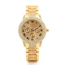 2018 New Metal Bracelet Quartz Bracelet Gold Bracelet Crystal Diamond Gold Watch