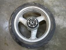 2004 Kawasaki ZZR1200 Rear Back Wheel Rim Tire Hub 180/55ZR17 J17M/CxMT5.5 02-05