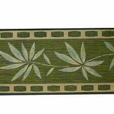 SALE ! Wallpaper Borders Green 6349-55 AS YOGA bamboo 5m Border
