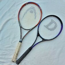 Lot Of 2 Tennis Racquets Head Ti. Mirage and Dunlop Side Winder