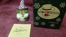 "Sarah's Attic Snowonders 1998 October 6409 ""Witchy"" New Box & Papers"