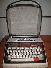 MAQUINA DE ESCRIBIR VINTAGE BROTHER DE LUXE 1350 AUTOMATIC REPEAT SPACER  FUNDA