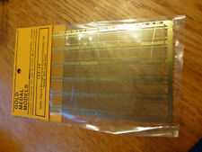 Gold Metal Models #16030 Spike Tipped Wrought Iron Fence Extender Set