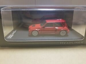 HEADLINER HL0822 RENAULT 5 MAXI TURBO RED 1/43