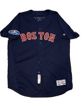 MLB Authenticated - Game-Used Boston Red Sox Jersey With Postseason Patch