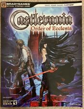 Castlevania The Order of Ecclesia Official Strategy Guide by BradyGames