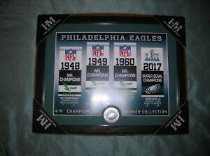""" Philadelphia Eagles "" Championship Team Banner / Plaque / Man Cave Special"