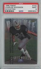 1998 Finest #142 Charles Woodson Raiders RC PSA 9
