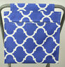 Blue & White Canvas Clothes Peg Bag Holder- For Trolley & Washing Line