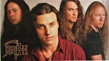 DEATH  `1998 line up` large poster   /  Chuck Schuldiner sound of  perseverance