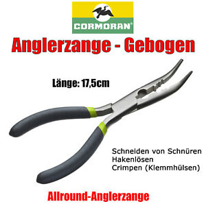 Sprengringzange gerade 16.5cm Cormoran Angeln Anglerzange