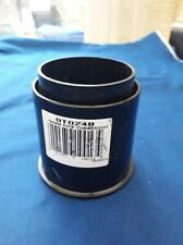Osma 0T024B Rainwater Downpipe Connector Coupling Round 68mm Black