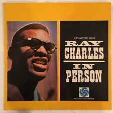 Ray Charles - Ray Charles In Person - Atlantic 8039 - 1960 (Live Album)