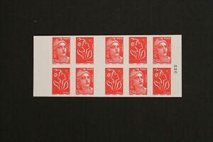 CARNET 10 timbres - 60 ans de la Marianne de Gandon n° 1514 - neuf **  - 2006