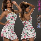 New Sexy Mini Dress Casual Evening Beach Going Out Dance Size 2 4 6 8 10 XS S M