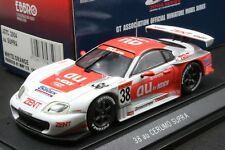 Ebbro 43596 1:43 au Cerumo TRD Toyota Supra JGTC 2004 Die Cast Model Racing Car