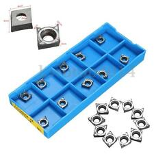 10x CCGT09T302 AK H01 Carbide Inserts CNC Miling Lathe Tool For Aluminum Cutting