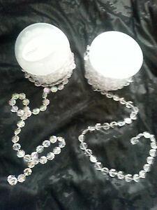 2 mtrs Crystal effect garland decoration - Wedding venue, manzanita tree or cake