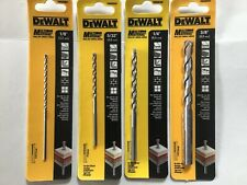 DeWalt Multi Material 1/4 in. x 4-3/4 in. L Carbide Tipped Masonry Drill 4 Pc
