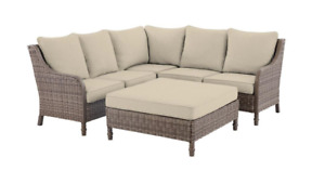 Hampton Bay Windsor Sectional Covers, Putty