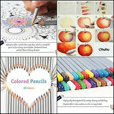 Pencils Drawing Colored Soft Core set 72 Pencil Colors Count Pack Coloring Books