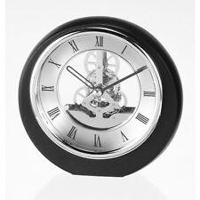 Mini Rond Squelette Horloge Mantel avec chromé lunette SKC17/S Neuf