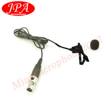 Lapel Omni-directional Mic JPA Lavalier Mic For Electro Voice Wireless RE-1 RE-2
