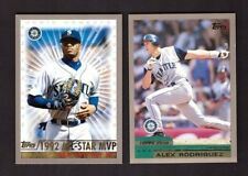 2000 Topps - SEATTLE MARINERS - Team Set w/ Traded & Rookies 18 Cards Mint