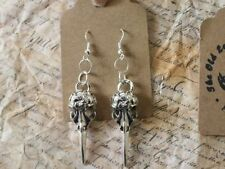 Animals & Insects Alloy Drop/Dangle Costume Earrings