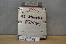 1995 Ford Windstar 3.8L Engine Control Unit ECU F58512A650CC Module 93 11A8