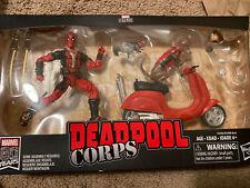 Marvel Legends Riders Series Deadpool Corps Scooter Figure + Vehicle