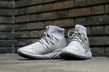 Adidas Men's Tubular Doom Gray/Metallic Silver Shoes S74791 NEW! Size 12