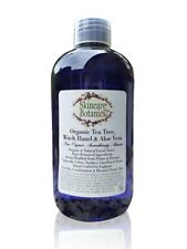 Organic & Natural Tea Tree & Witch Hazel Toner with Aloe Vera - 250 ml. bottle
