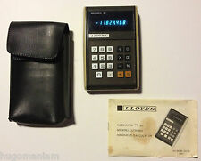 Lloyds Accumatic 30 Calculator Complete Cover & Instructions Handheld Vintage