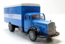 WIKING MB  L 6600 LKW Koffer Bayerischer Rundfunk blau-weiß Maßstab 1:87