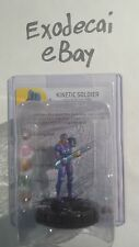 KINETIC SOLDIER 010 COMMON YUGIOH SERIES 1 ONE HEROCLIX COMPLETE W/ CARD