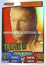Slam Attax Rumble - Triple H - Champion