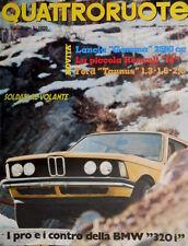 Quattroruote 242 1976 Pro e contro della BMW 320i. Nuova Ford Taunus [Q.15]