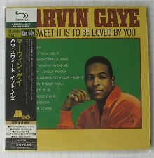 MARVIN GAYE - How Sweet It Is To Be + 3 JAPAN SHM MINI LP CD OBI NEU! UICY-94027