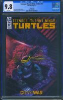 Teenage Mutant Ninja Turtles 97 (IDW) CGC 9.8 White Pages Eastman Variant Cover